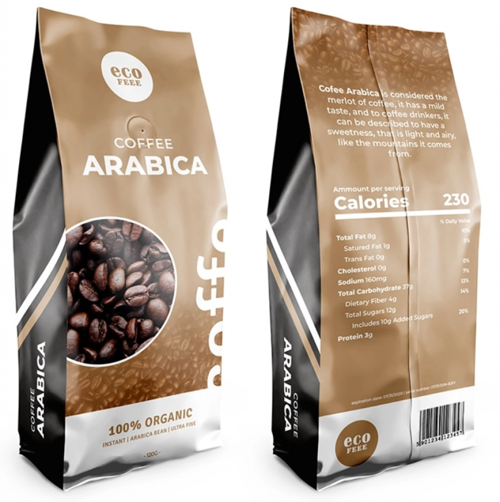 Coffee Packaging Birinci Kalite Ambalaj